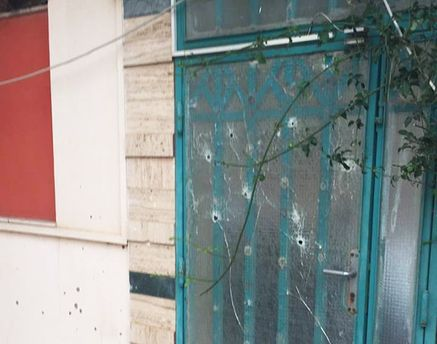 Посол показал фото обстрелянного дипломатического ведомства Украины