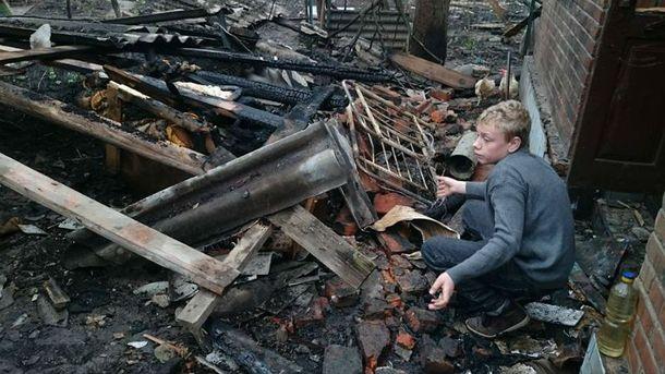 Балаклея после взрывов