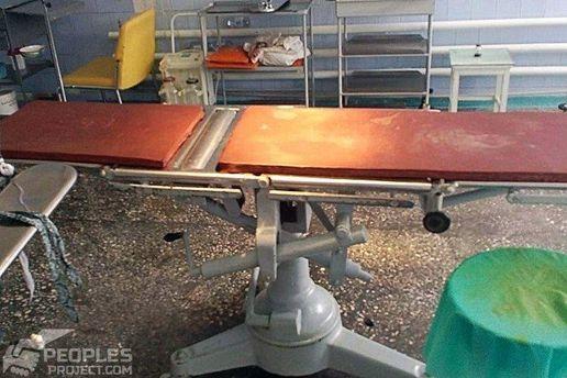 Поточний стан операційної у лікарні