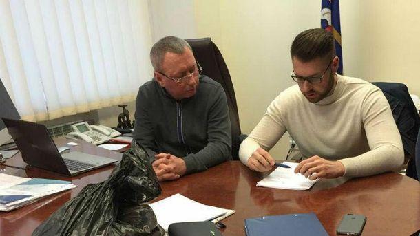 Віктора Андреєва  підозрюють у створенні злочинної організації