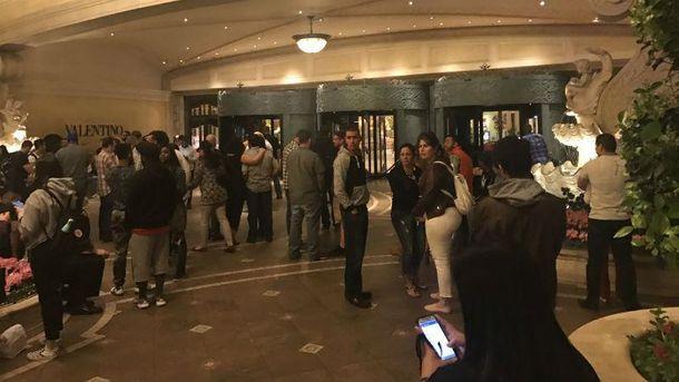 Стрельба в отеле-казино