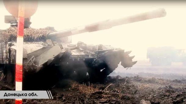 Тренування танкістів