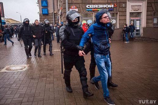 Акції протесту у Білорусі