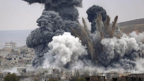 Авіаудари у Сирії