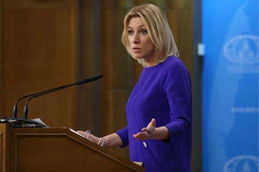 Марія Захарова не погоджується із запровадженими санкціями проти Росії