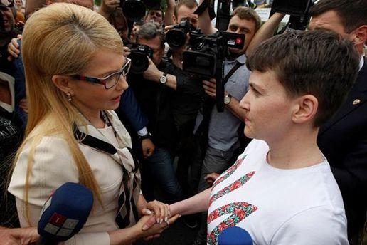 Савченко прибегла к критике Тимошенко