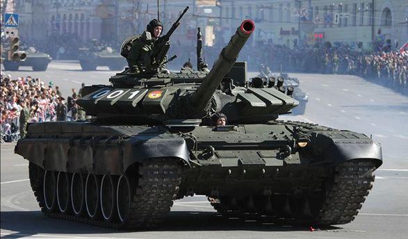 Танк Т-72Б3 2015-го року
