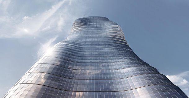 Самый длинный небоскреб в Нью-Йорке