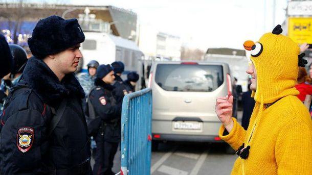 А раптом протести в Росії переростуть в Майдан...