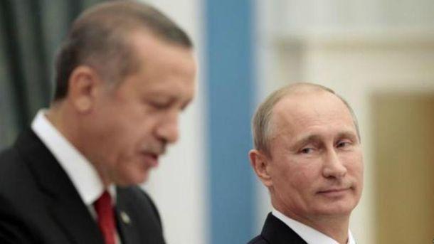 Президенти Туреччини та Росії