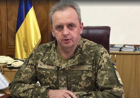 Виктор Муженко утверждает, что Украине хватает боеприпасов
