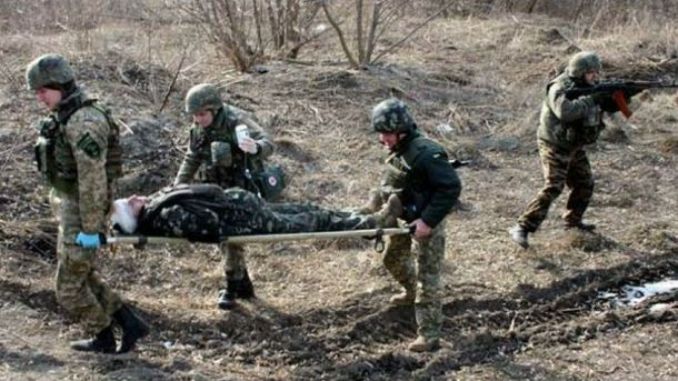 Поранений військовослужбовець