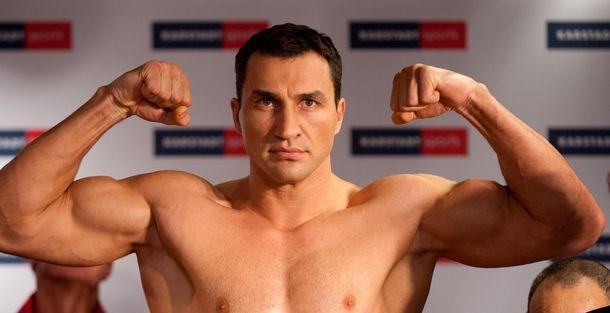Український боксер Володимир Кличко