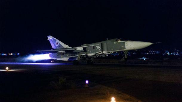 Российский самолет в Сирии