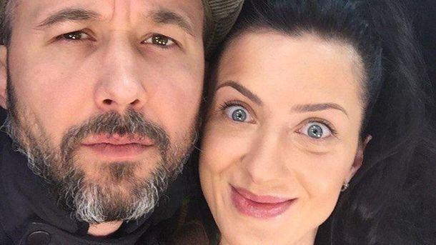 Сергій Бабкін з дружиною Сніжаною