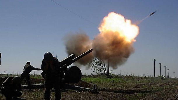 Терористи не припиняють обстрілювати українські позиції
