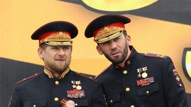 Очыльник Чечны Рамзан Кадиров і голова парламенту Магомед Даудов