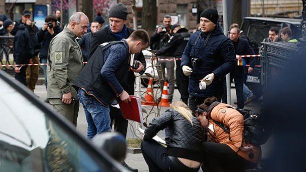 Місце вбивства Дениса Вороненкова