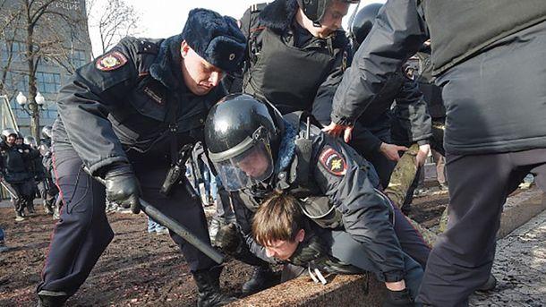 Затримання активістів у Москві