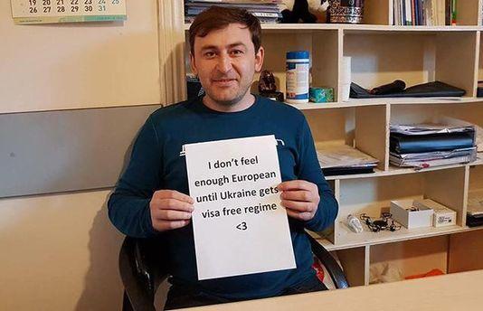Грузины поддерживают украинцев в стремлении к безвизу с ЕС