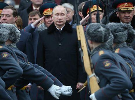 Путин увеличил количество бойцов в вооруженных силах России