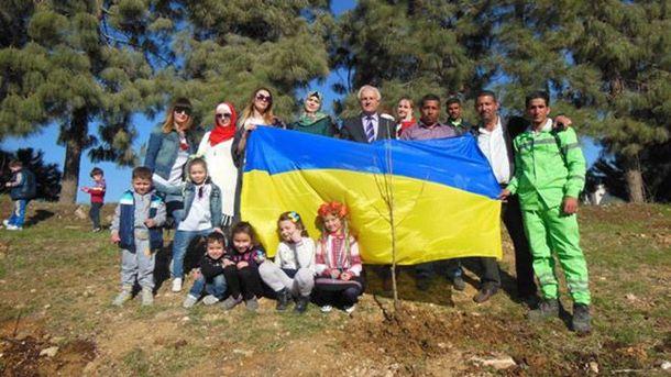 Парк украинско-иорданской дружбы