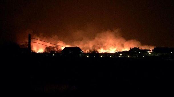Пожар на Позняках