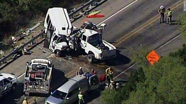 Аварія в Техасі