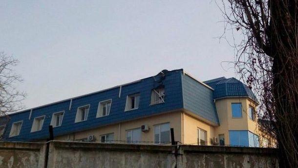 Обстрел консульства Польши в Луцке