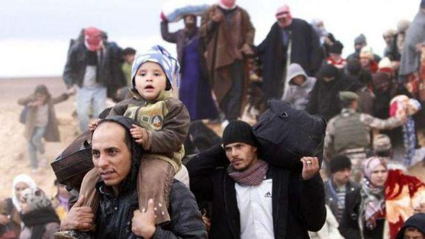 Сирийских беженцев уже более 5 милионов
