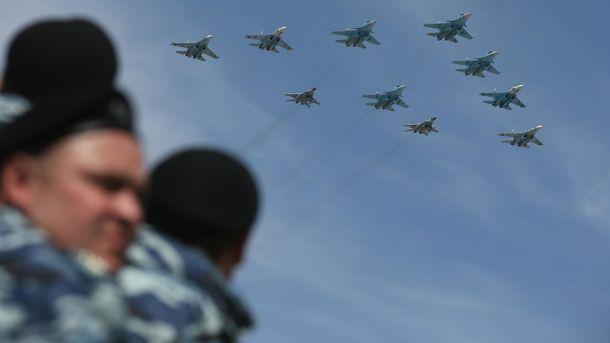 Російські військові літаки