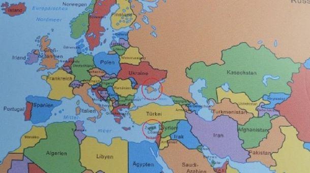 Карта з підручника