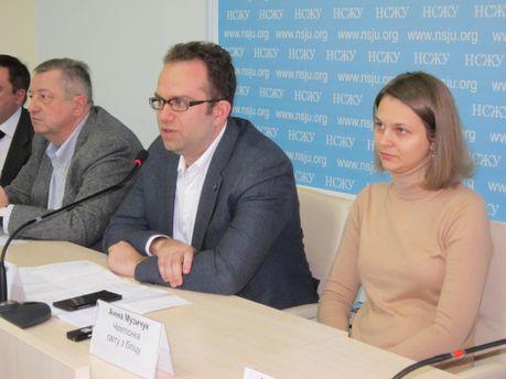 Унікальне фото: Павло Ельянов і Анна Музичук поруч. Київ, 2016 рік
