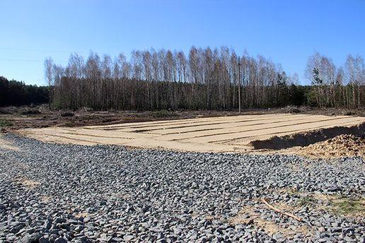 В Чернобыльской зоне отчуждения строят железную дорогу