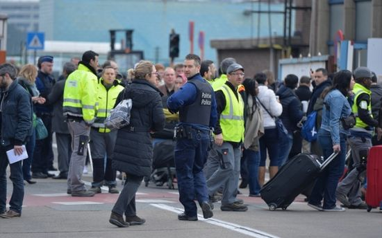 Столкновение в Брюсселе