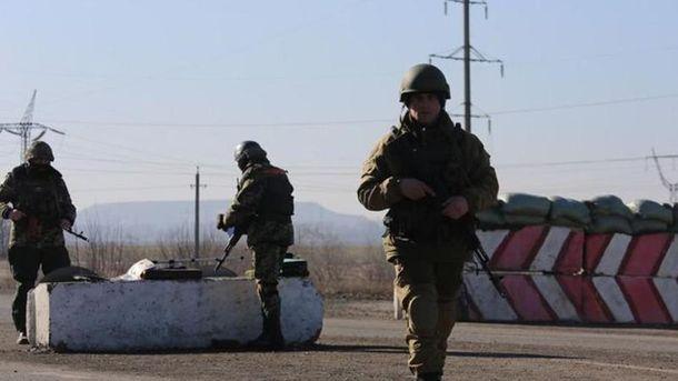 Украинские пограничники огонь в ответ не открывали