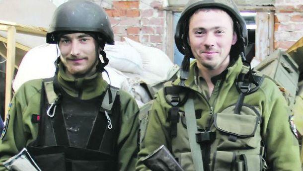 Бойцы, которые воюют в районе Авдеевки