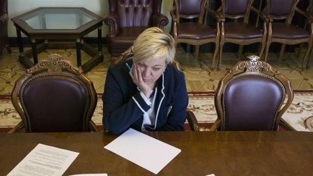 Гонтарева заговорила про свою відставку