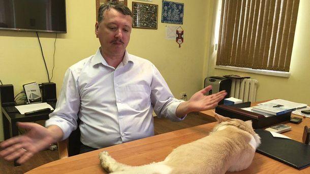 Ігор Стрєлков кохає, мабуть, лише свого кота