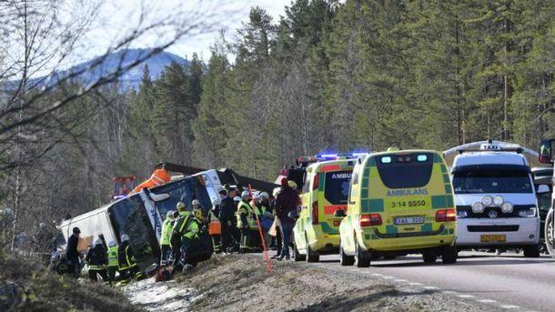 ДТП в Швеции