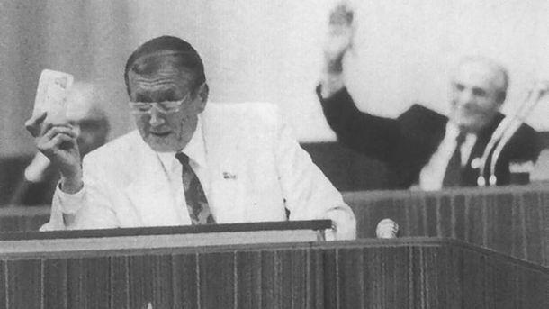 Евгений Евтушенко и Михаил Горбачев