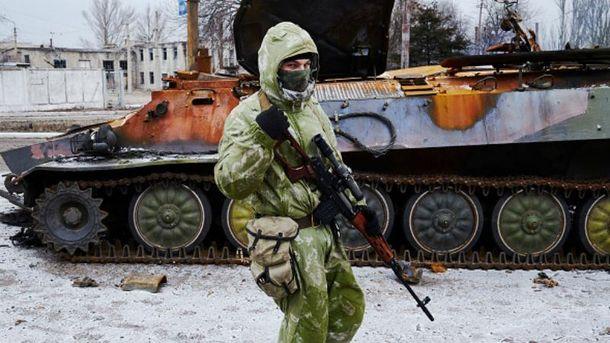 Бойовик на Донбасі