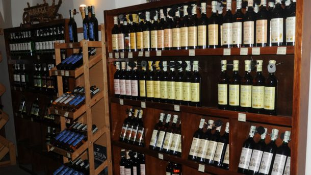 Магазин вина в Крыму