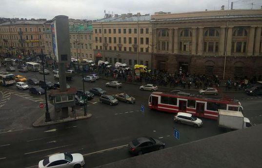 Взрыв в Петербурге