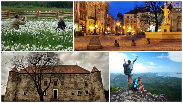 Любимые места туристов в Украине