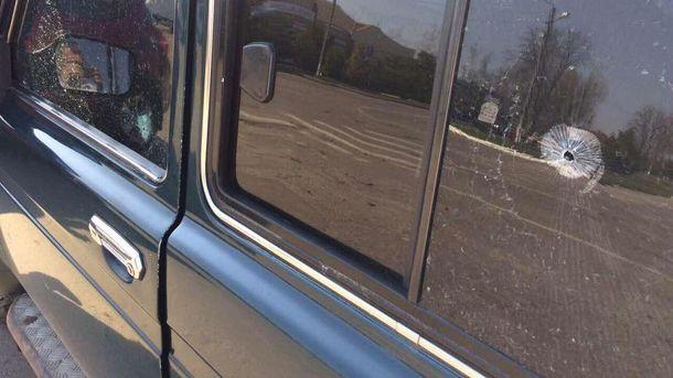 Расстреляно авто депутата от Радикальной партии