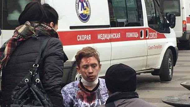 Среди пострадавших в Петербурге есть дети