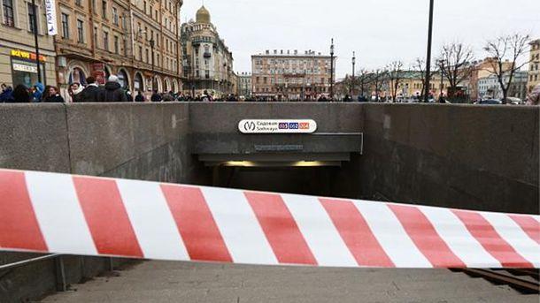 Вибух у метро у Санкт-Петербурзі
