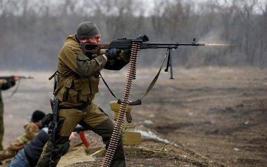 Бойовики Донбасу не дотримуються припинення вогню та накривають бійців АТО обстрілями з важкої зброї