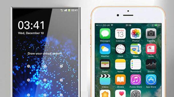 Вам більше подобається  iPhone чи Samsung?